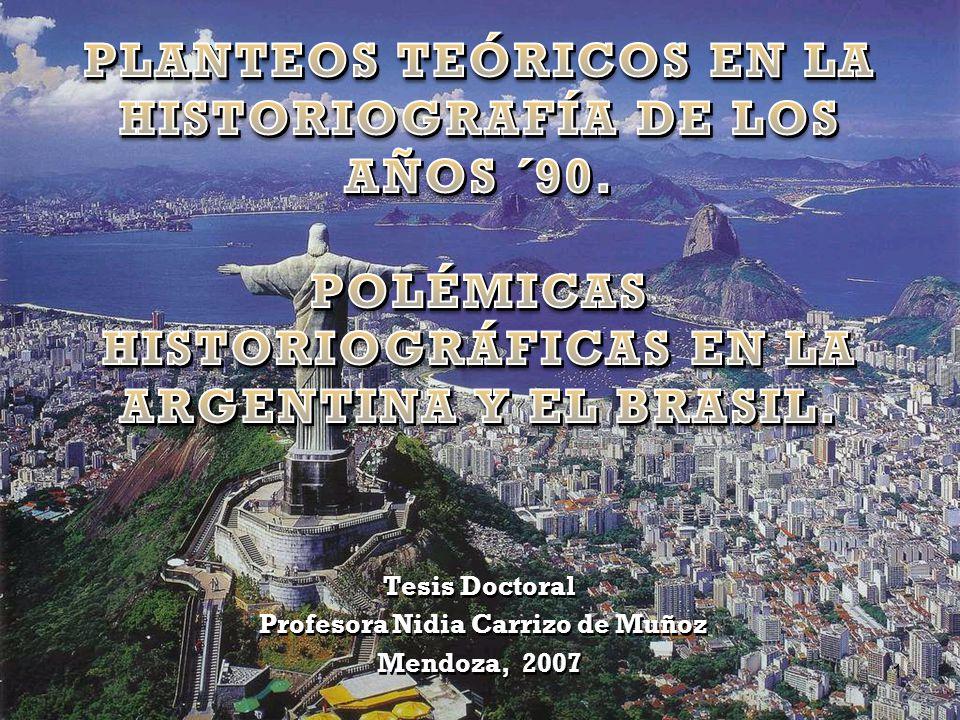 Tesis Doctoral Profesora Nidia Carrizo de Muñoz Mendoza, 2007 Tesis Doctoral Profesora Nidia Carrizo de Muñoz Mendoza, 2007 1