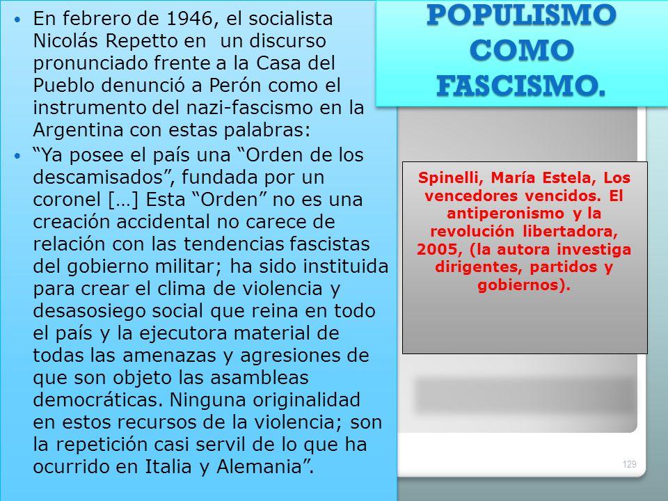 Spinelli, María Estela, Los vencedores vencidos. El antiperonismo y la revolución libertadora, 2005, (la autora investiga dirigentes, partidos y gobie