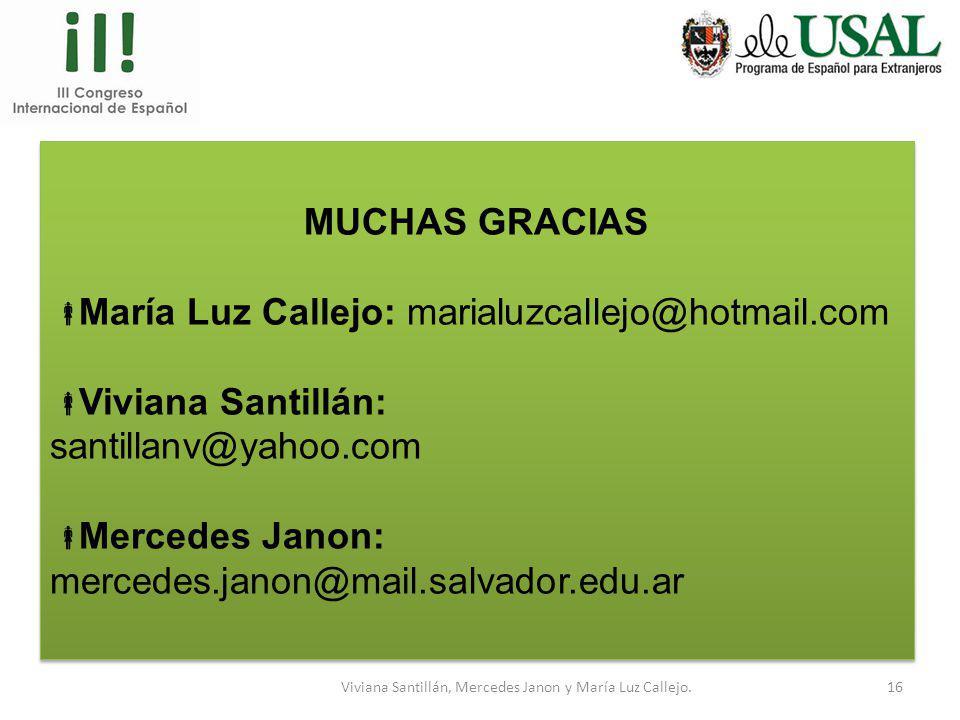 Viviana Santillán, Mercedes Janon y María Luz Callejo.15 EJEMPLO Delimitamos alcance de la habilidad EJEMPLO Delimitamos alcance de la habilidad ANTES