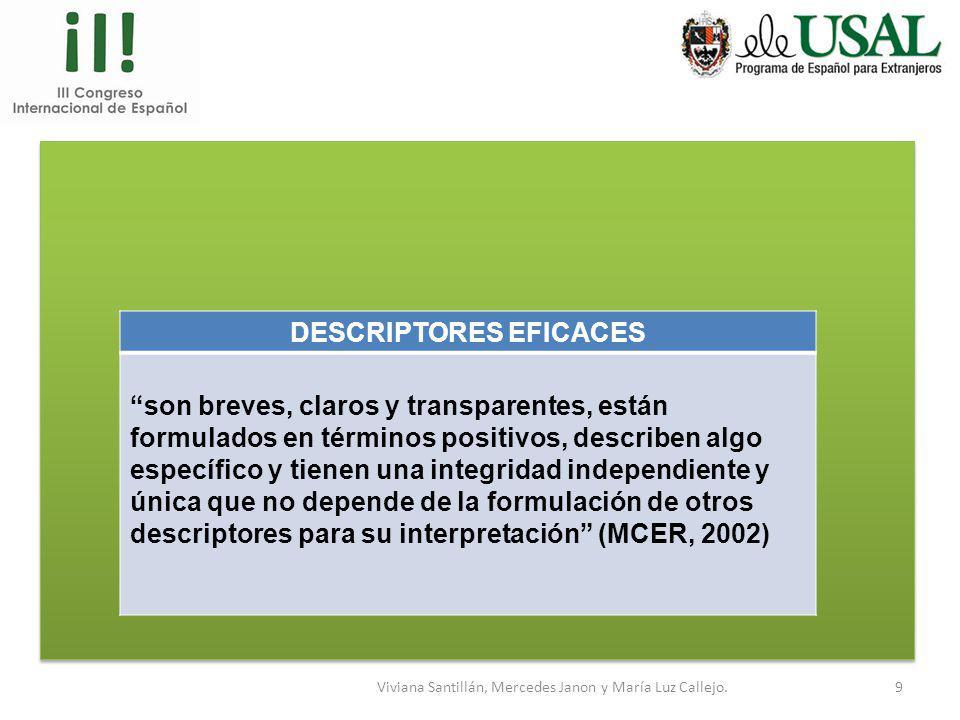 Viviana Santillán, Mercedes Janon y María Luz Callejo.8 La lengua que se evalúa: lengua estándar ¿Cómo se reflejará en nuestro examen? Consignas en es