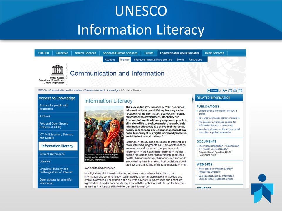 UNESCO Information Literacy