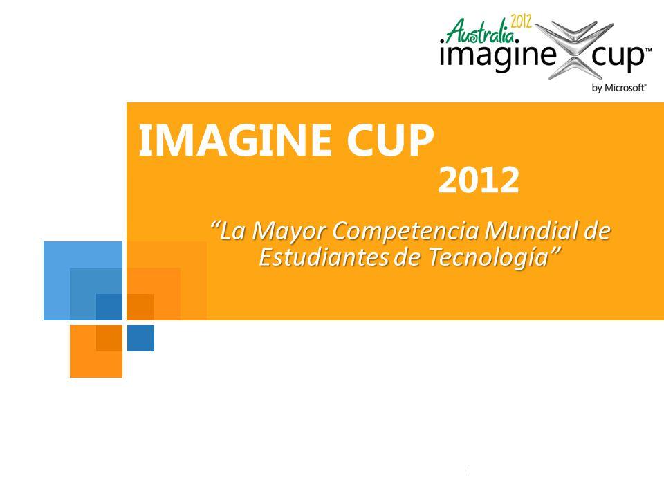 Microsoft Logo here Microsoft Logo Tagline here IMAGINE CUP 2012 La Mayor Competencia Mundial de Estudiantes de Tecnología
