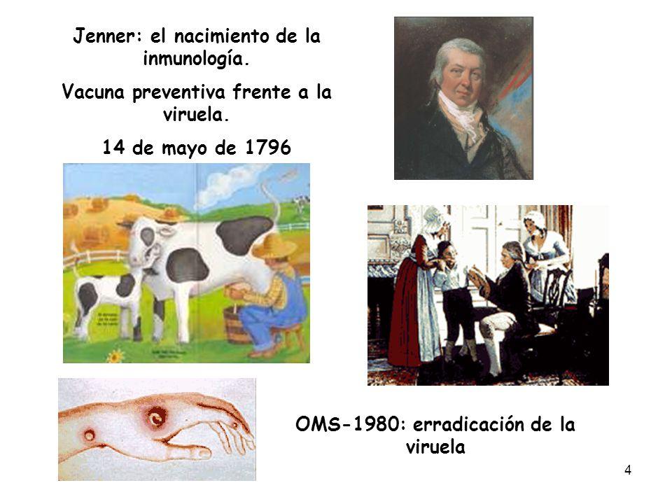 15 La inmunidad innata controla y/o limita el progreso de la infección e instruye a la inmunidad adaptativa Mecanismos efectores Mecanismos efectores MEMORIA Reinfección HORAS DIAS - SEMANAS PROTECCION INFLAMACIONINFLAMACION Infección RESPUESTA INNATA RESPUESTA ADAPTATIVA ó ADQUIRIDA