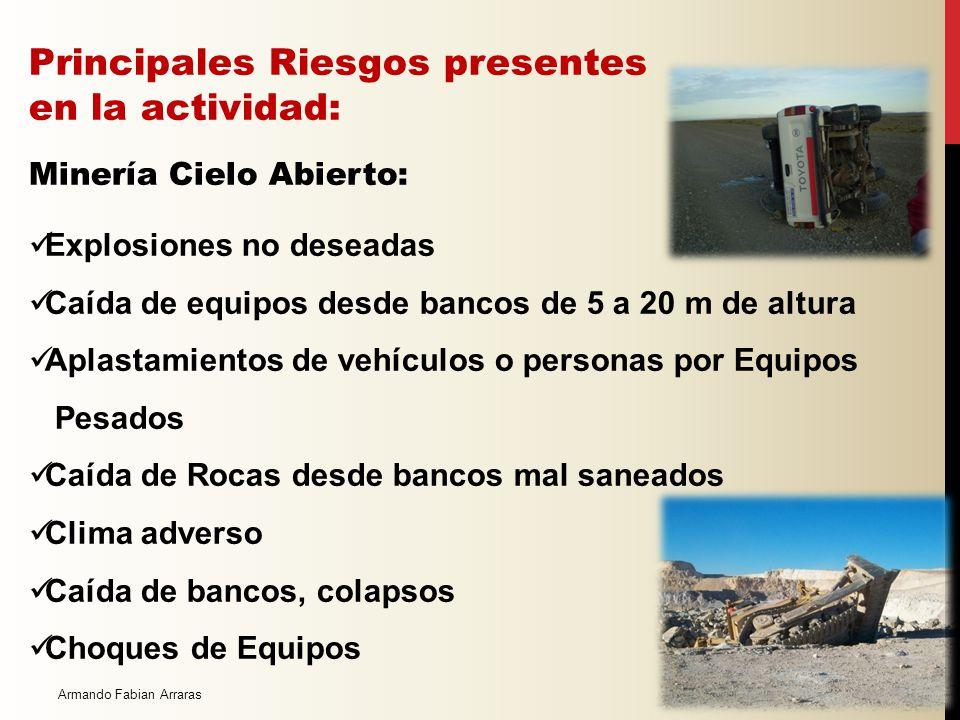La extracción del mineral se realiza siguiendo una secuencia de los siguientes pasos: Perforación Voladura Carguío Transporte interno Proceso del mine