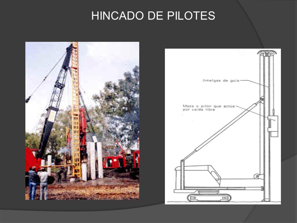 HINCADO DE PILOTES