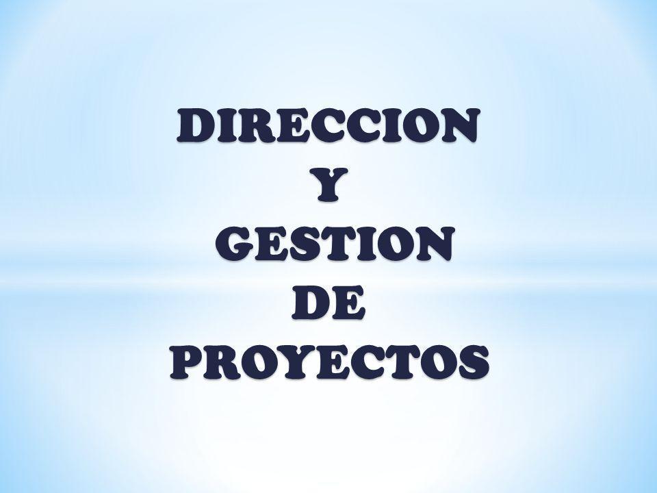 G.P.DE PLANIFICACIÓN 1. DESARROLLAR EL PLAN DE GESTIÓN DEL PROYECTO 2.
