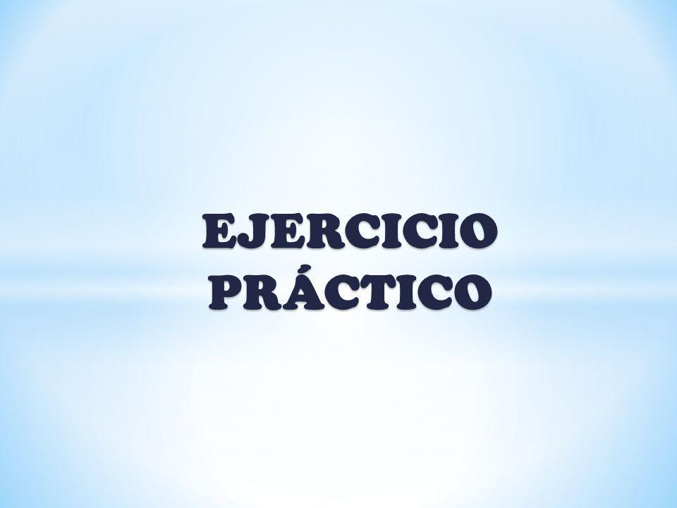 EJERCICIO PRÁCTICO