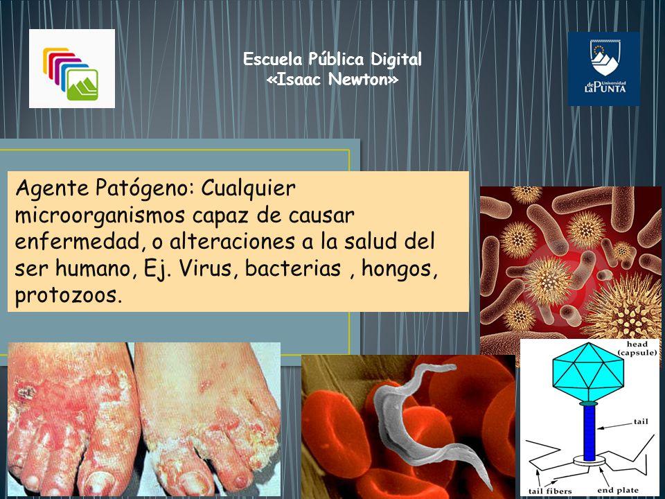 Definiciones: Infección: Ocurre cuando un agente patógeno ingresa, se multiplica y se desarrolla dentro del huésped.