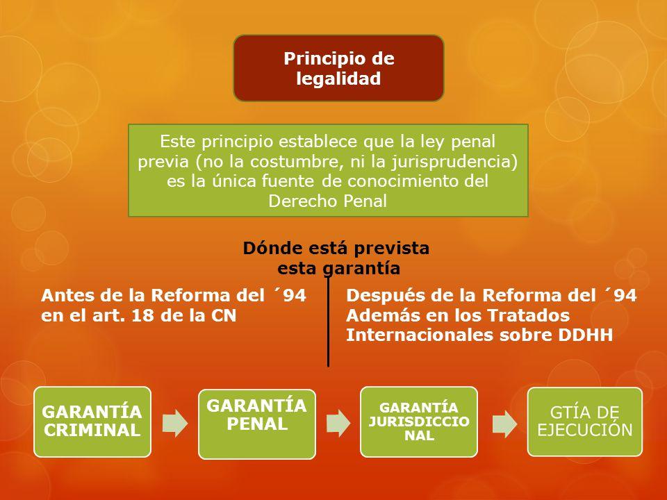 PRINCIPIOS DE DERECHO PENAL Las garantías constitucional es s e basan en la dignidad de la persona humana Son para proteger derechos esenciale s del h