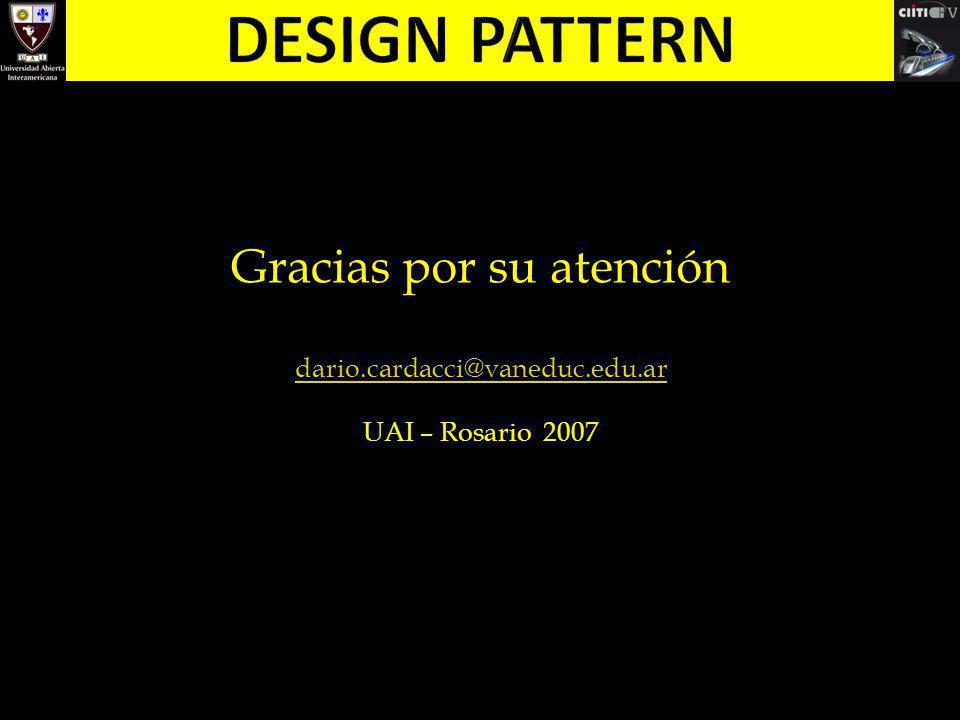 Gracias por su atención dario.cardacci@vaneduc.edu.ar UAI – Rosario 2007
