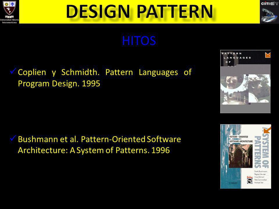 TIPOS DE PATRONES de Diseño de Arquitectura de Análisis de Testing para Web para Ambientes Distribuidos de Negocios de Procesos y Organizacionales …