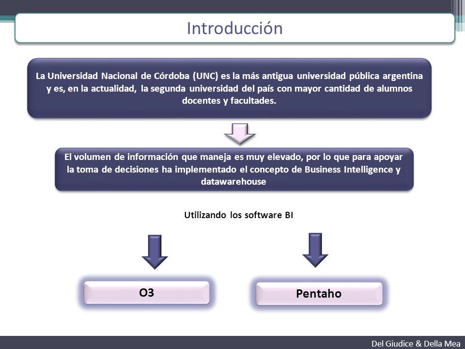 Proyecto Pentaho U.N.C Del Giudice & Della Mea Soluciones otorgadas por el SIU Pilaga Mapuche Guaraní