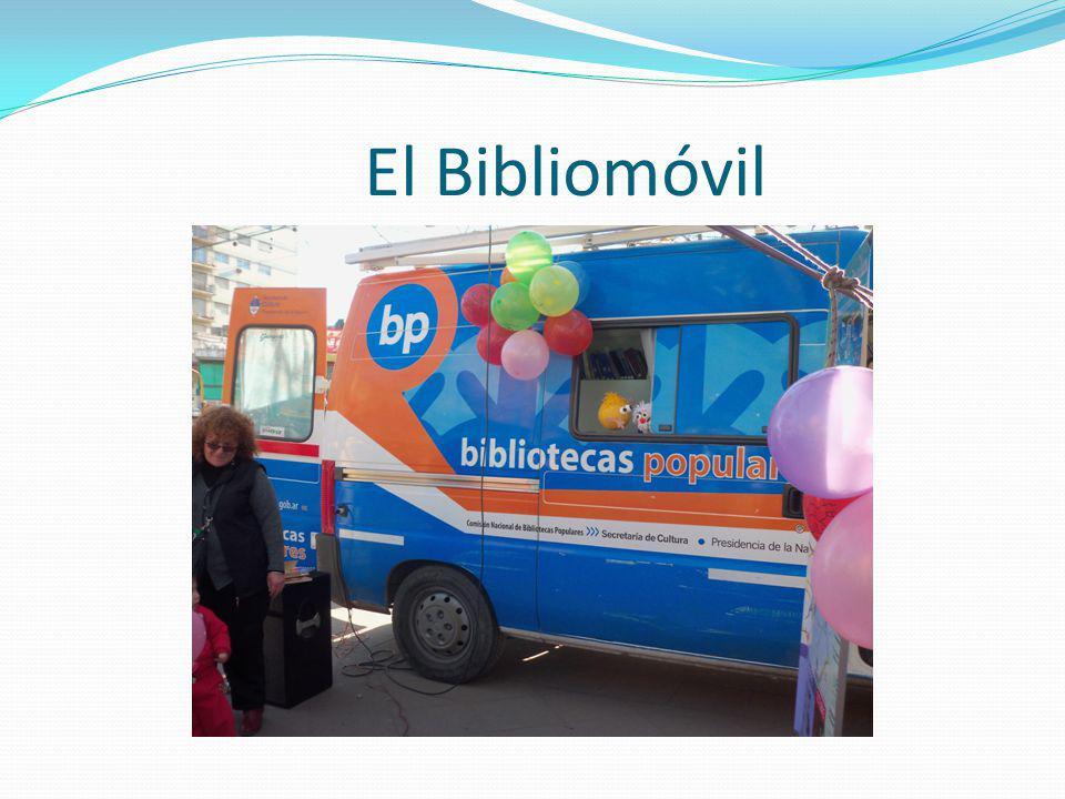 Actividades con el bibliomóvil
