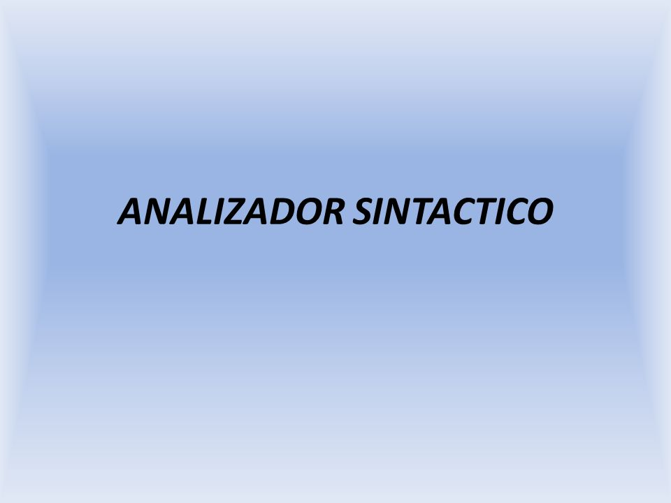 Análisis sintáctico descendente predictivo Construcción de los conjuntos de predicción La construcción de los conjuntos de predicción de una regla A::=α se apoya en el uso de dos conjuntos asociados respectivamente a la parte derecha e izquierda de la regla: Primeros (α) Devuelve el conjunto de todos los terminales que se pueden encontrar a la cabeza de cualquier derivación de la frase α Siguientes (A) Devuelve el conjunto de todos los terminales que se pueden encontrar siguiendo a A en cualquier derivación posible