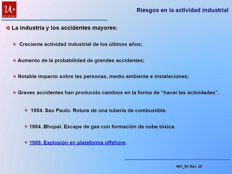MI1_RI. Rev. 00 Riesgos en la actividad industrial