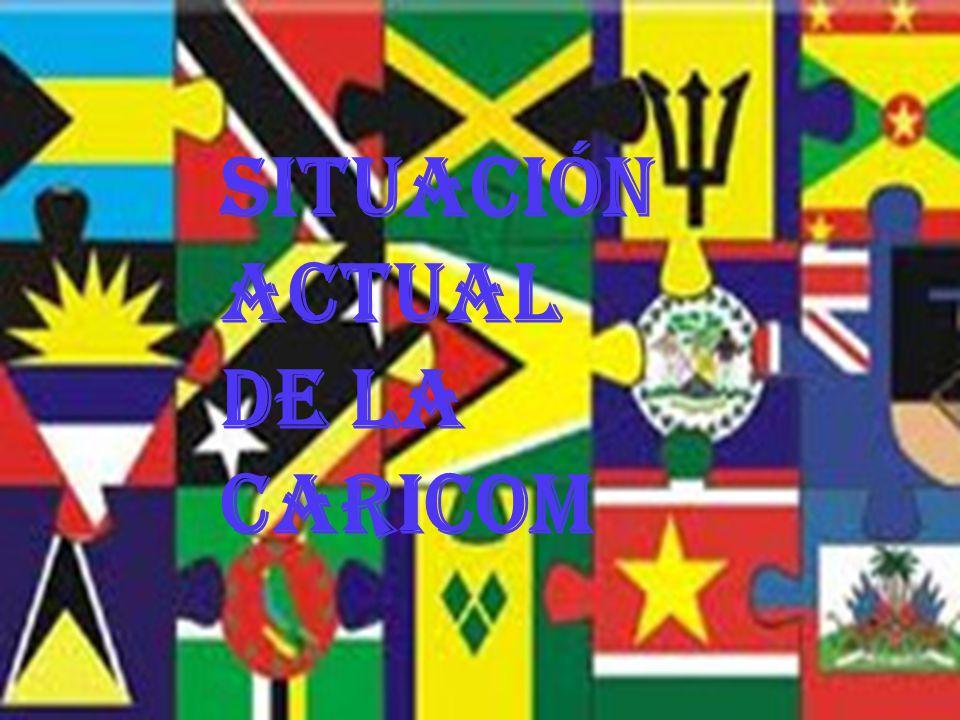Situación actual de la CARICOM