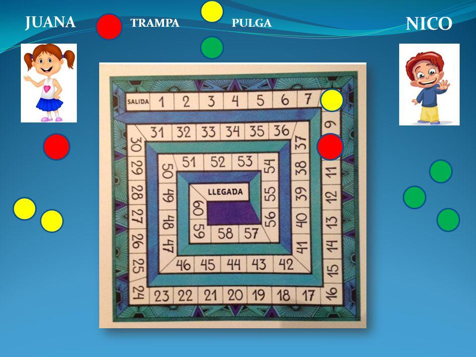 ¿A partir de este juego a qué conclusiones matemáticas podríamos arribar?