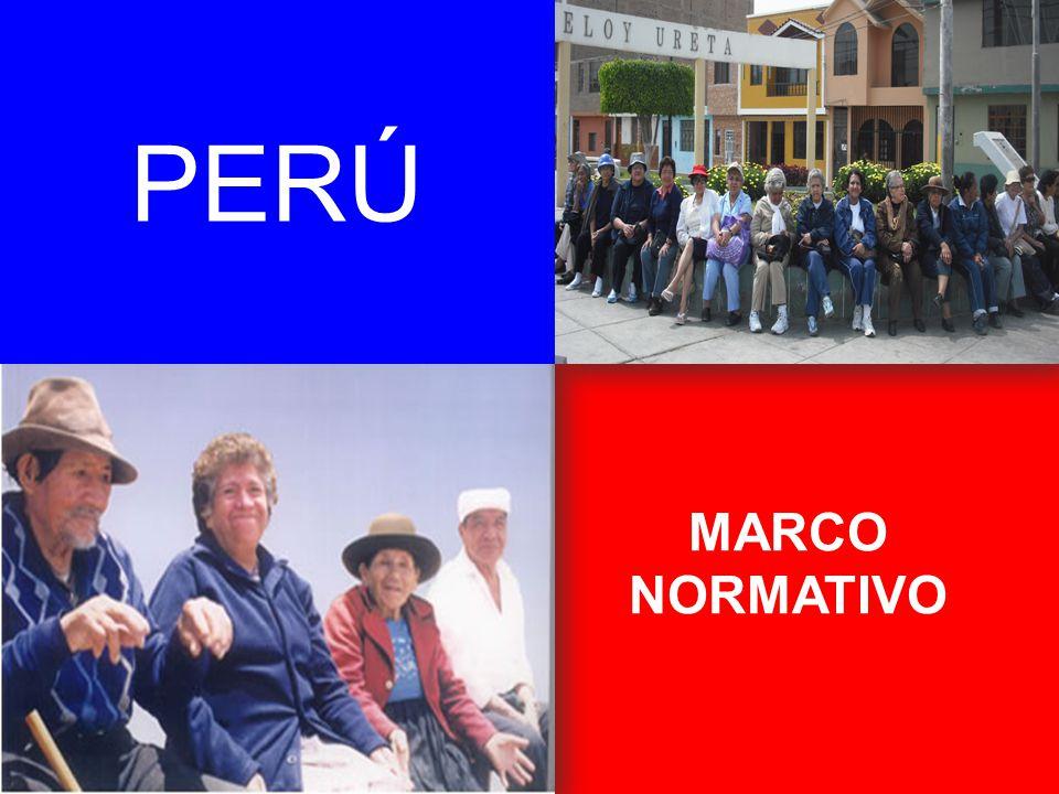 MARCO NORMATIVO PERÚ