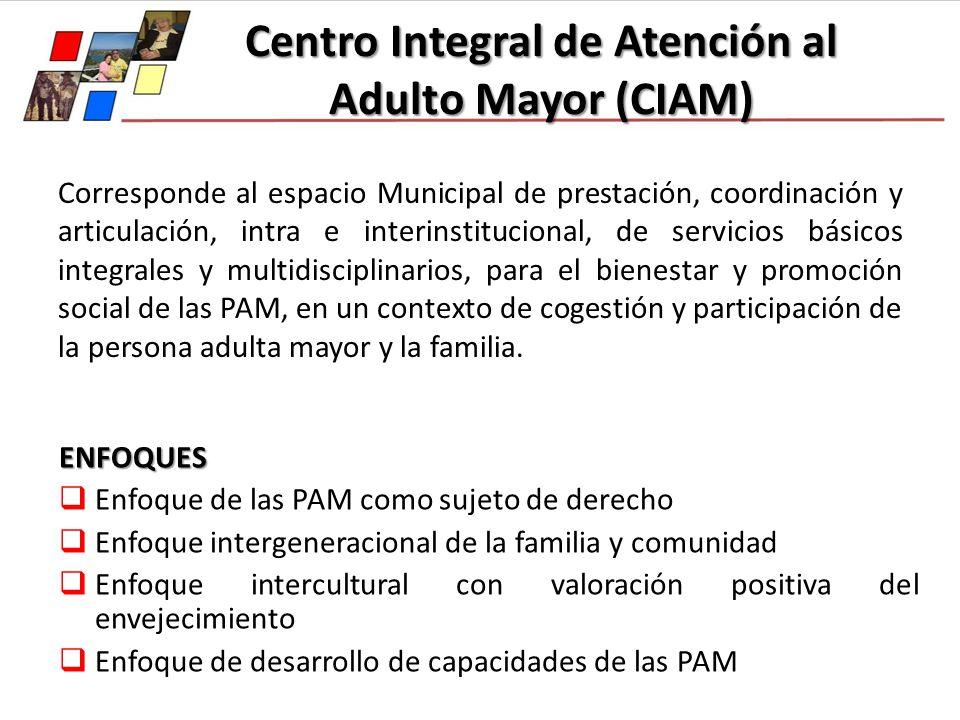 Corresponde al espacio Municipal de prestación, coordinación y articulación, intra e interinstitucional, de servicios básicos integrales y multidiscip