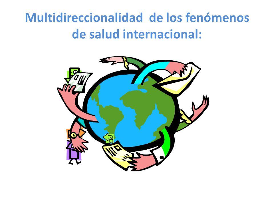 Multidireccionalidad de los fenómenos de salud internacional: