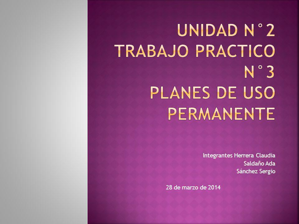 Los planes de uso permanente son aquellos que se usan en situación repetidas se dividen en políticas, procedimientos y reglas.