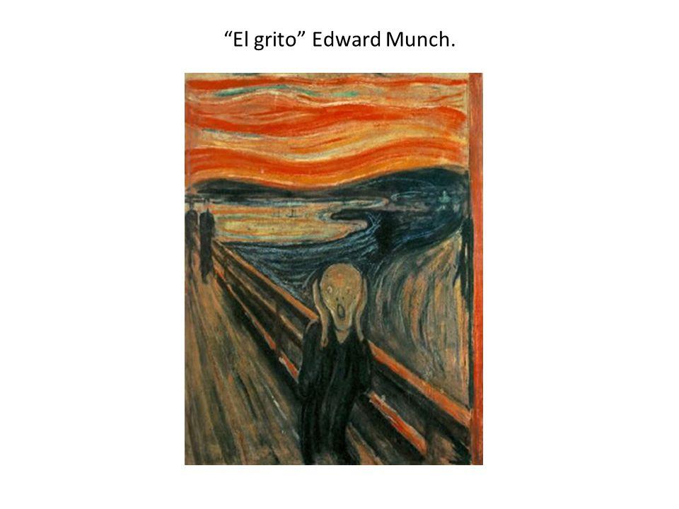 El grito Edward Munch.
