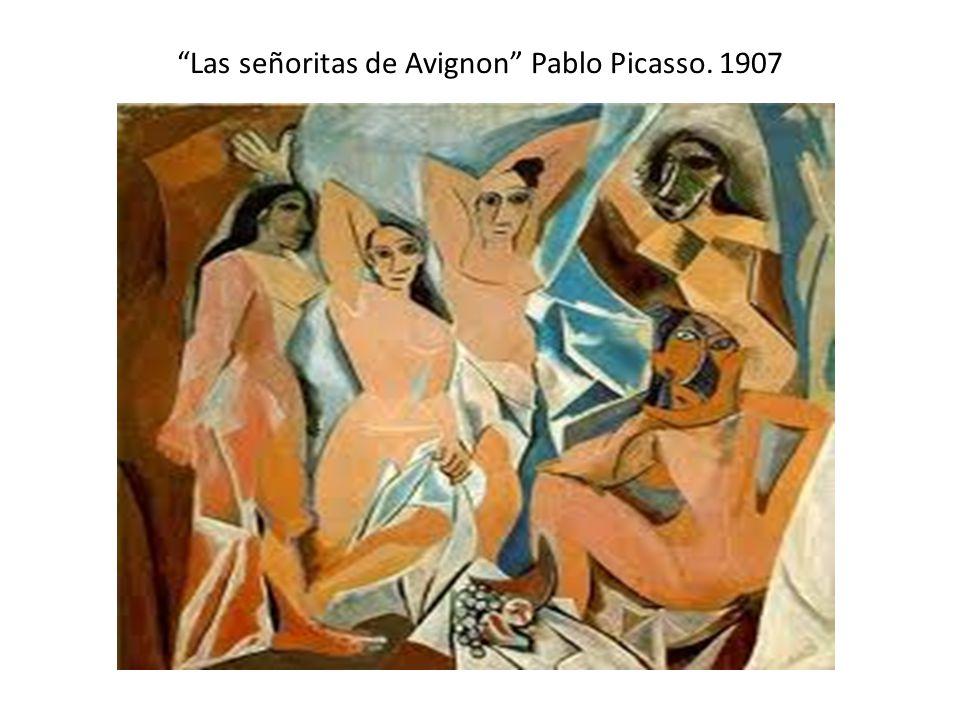 Las señoritas de Avignon Pablo Picasso. 1907