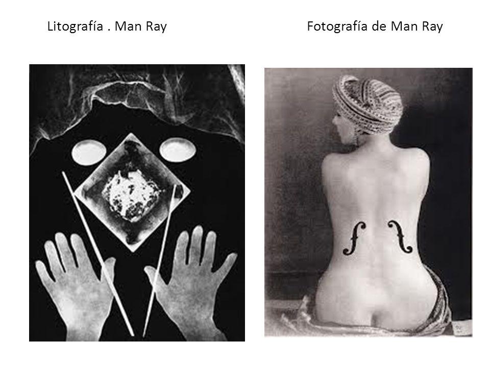 Litografía. Man Ray Fotografía de Man Ray