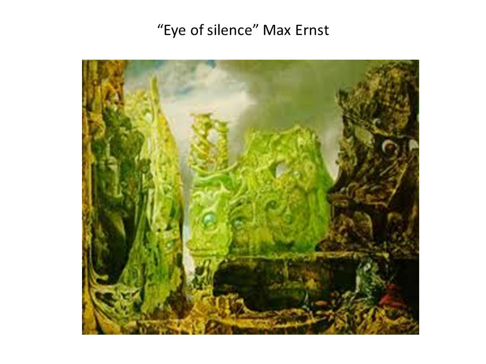 Eye of silence Max Ernst