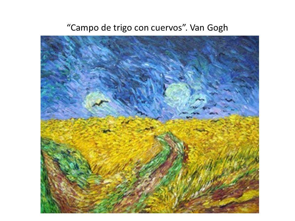 Campo de trigo con cuervos. Van Gogh