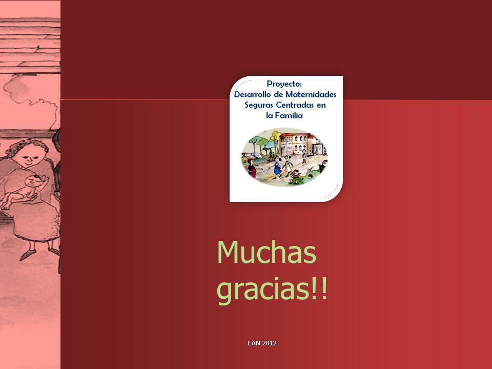 LAN 2012 Muchas gracias!!