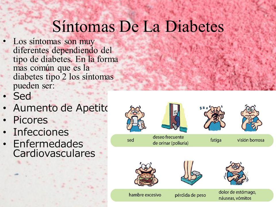 Síntomas De La Diabetes Los síntomas son muy diferentes dependiendo del tipo de diabetes.