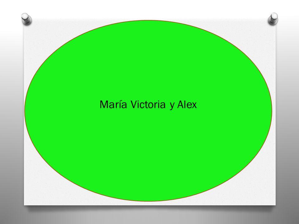 María Victoria y Alex
