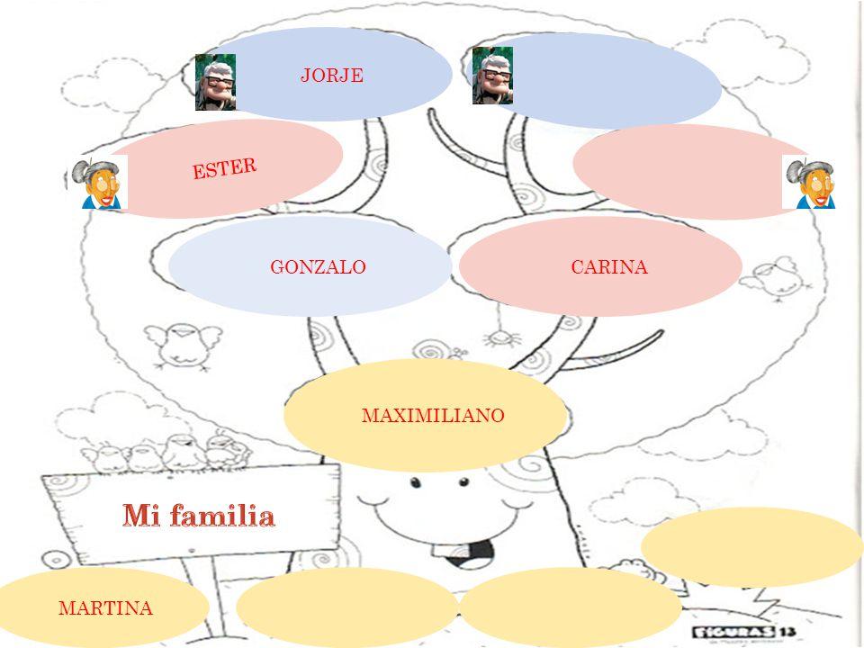 JORJE ESTER CARINA GONZALO MAXIMILIANO MARTINA
