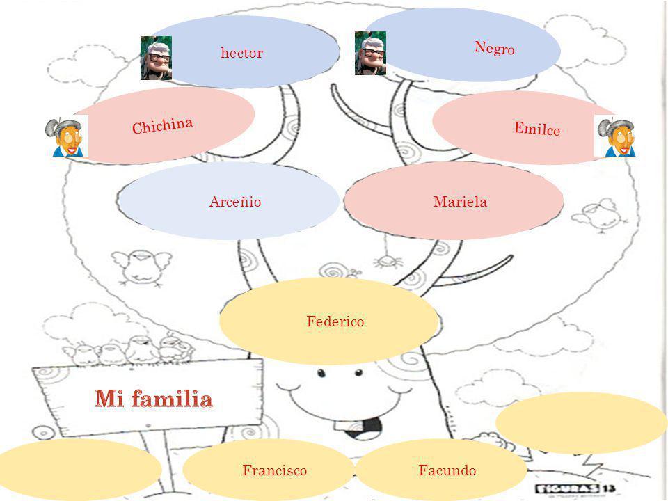 hector Negro Chichina Emilce Mariela Arceñio Federico Francisco Facundo