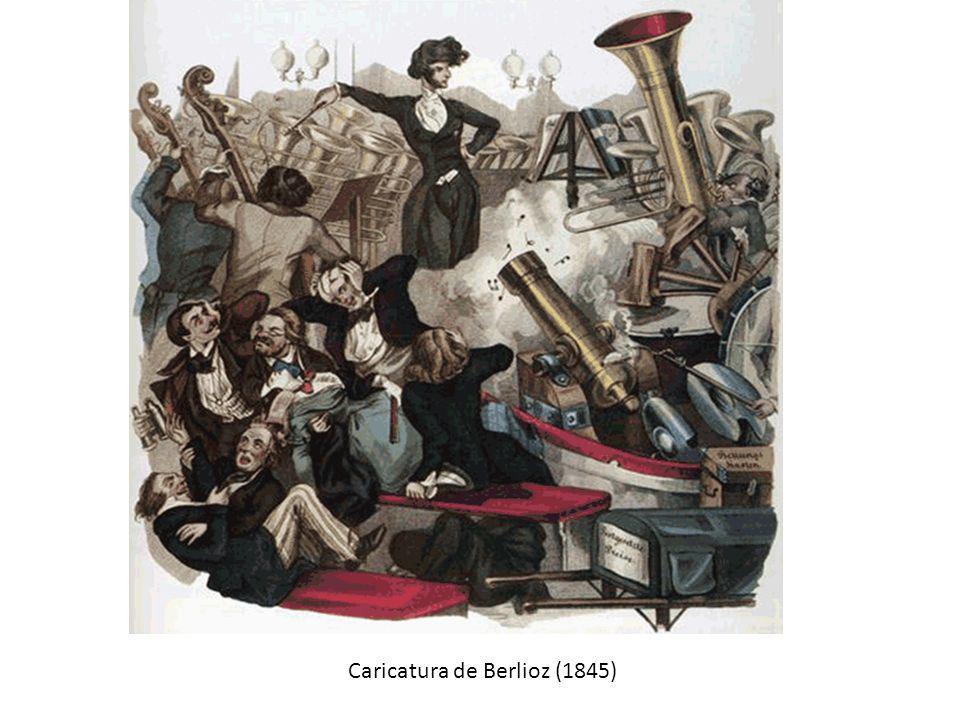 Caricatura de Berlioz (1845)