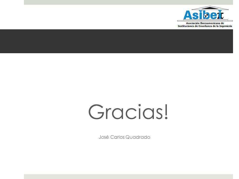 Gracias! José Carlos Quadrado