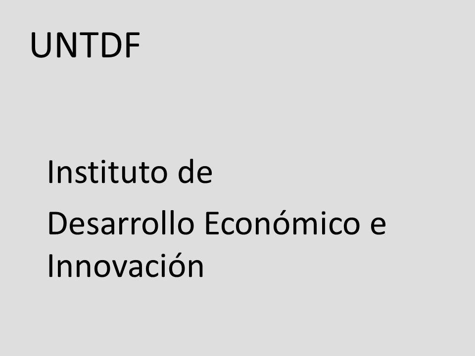 UNTDF Instituto de Desarrollo Económico e Innovación