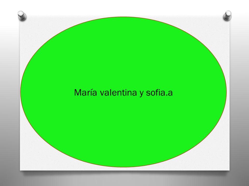 María valentina y sofia.a