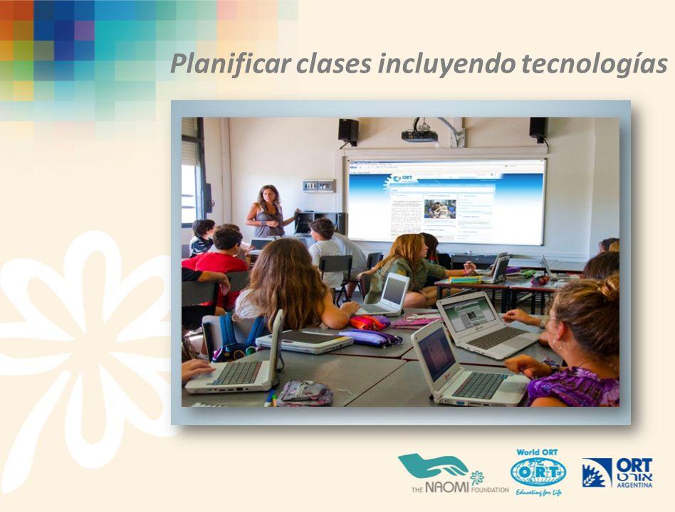 Planificar clases incluyendo tecnologías