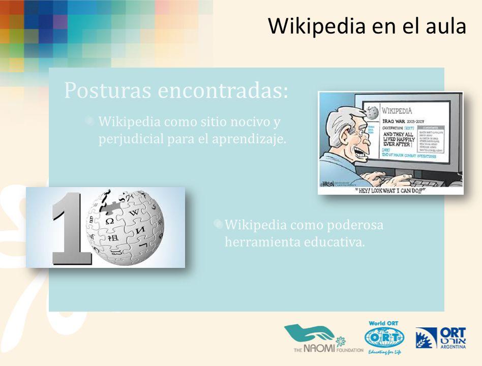 Wikipedia en el aula