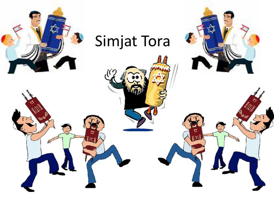 Simjat Torah: se celebra al concluir la festividad de Sucot, siendo en sí misma una festividad.