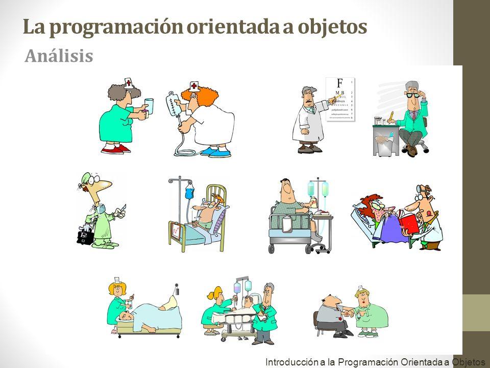 Introducción a la Programación Orientada a Objetos La programación orientada a objetos Análisis