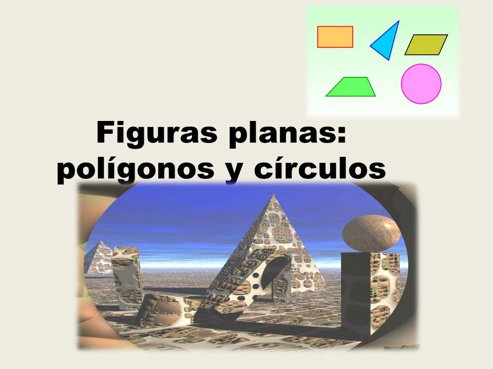 Polígonos Un polígono es una figura cerrada cuyos lados son segmentos.
