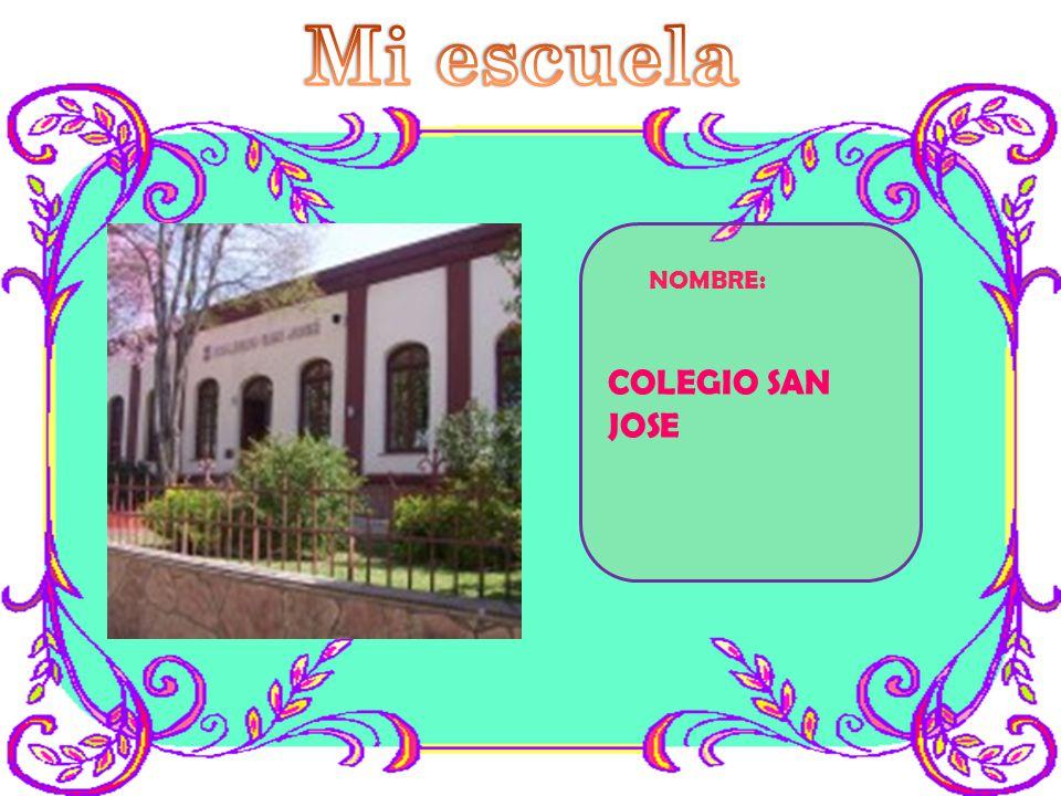 NOMBRE: COLEGIO SAN JOSE