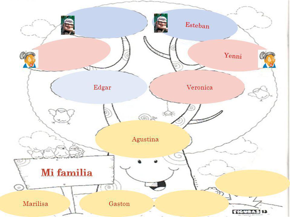 Esteban Yenni Veronica Edgar Agustina Gaston Marilisa