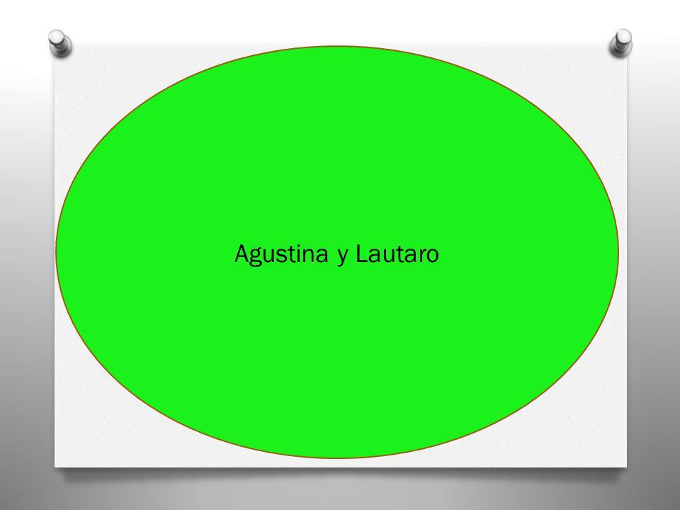 Agustina y Lautaro