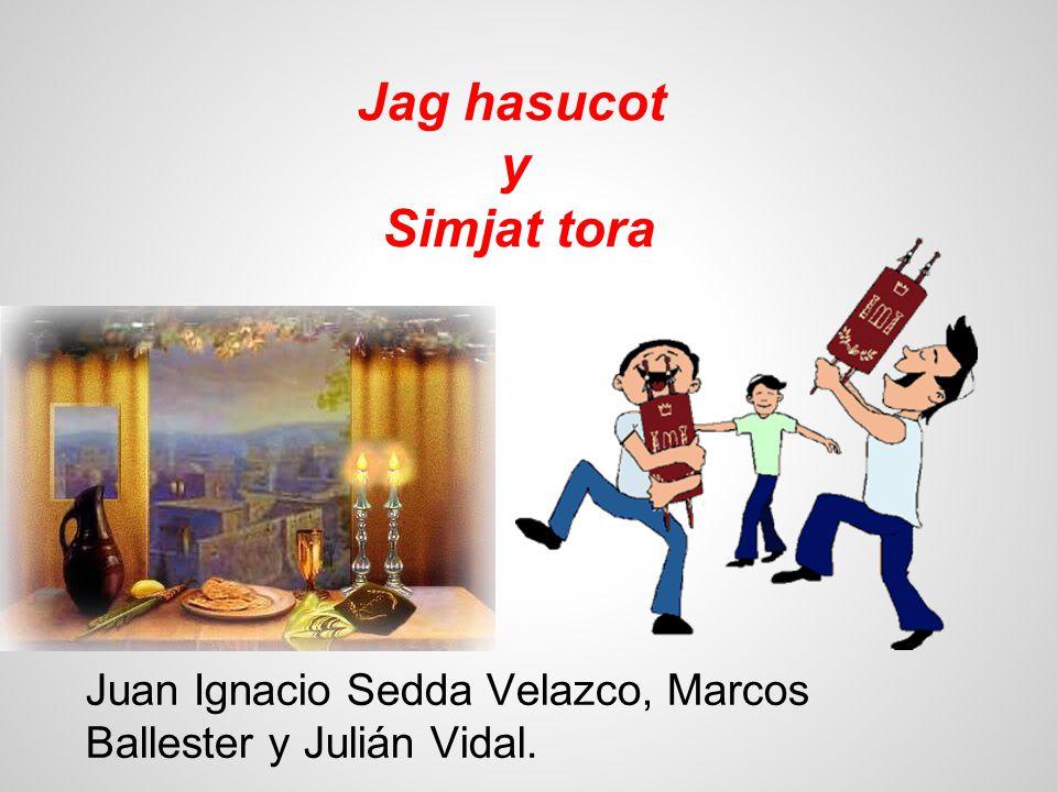Jag hasucot y Simjat tora Juan Ignacio Sedda Velazco, Marcos Ballester y Julián Vidal.