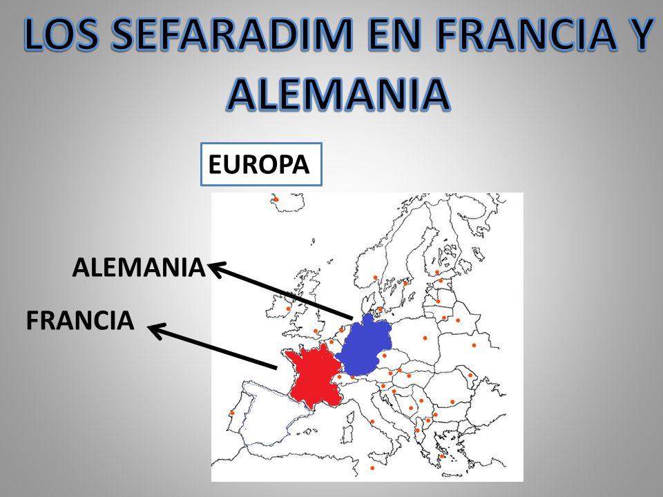En Francia en las zonas de avignon y burdeos se establecieron comunidades de cristianos nuevos provenientes de Italia, turquia y de los pueblos vecinos de provensa.