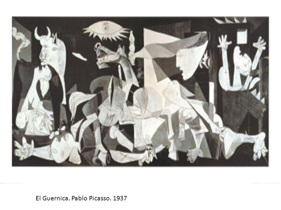 El Guernica. Pablo Picasso. 1937